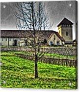 King Estate Winery Acrylic Print