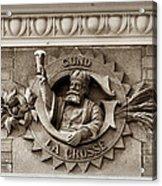 King Gambrinus Acrylic Print