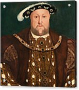King Henry Viii Acrylic Print