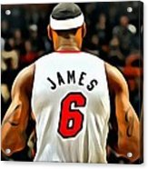 King James Acrylic Print