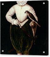 King James I Of England Acrylic Print