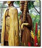 King Kamehameha Acrylic Print