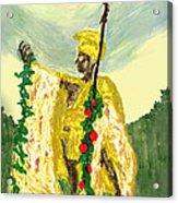 King Kamehameha Festival Acrylic Print