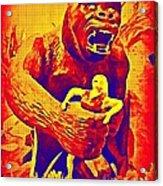 King Kong Acrylic Print by John Malone