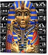 King Of Egypt Acrylic Print