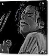 King Of Pop Acrylic Print by Twinfinger