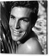 King Of The Jungle, Buster Crabbe, 1933 Acrylic Print
