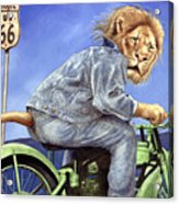 King Of The Road... Acrylic Print by Will Bullas