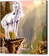 King Of The Valley Acrylic Print