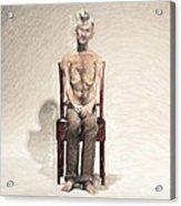 King Acrylic Print by Taylan Apukovska