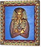 King Tut - Handcarved Acrylic Print