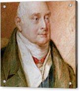 King William Iv Of England (1765-1837) Acrylic Print