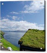 Kingdom Of Denmark, Faroe Islands Acrylic Print