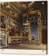 King's Audience Chamber, Windsor Castle Acrylic Print