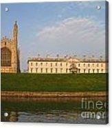 Kings College Cambridge Acrylic Print