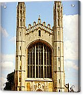King's College Chapel Acrylic Print