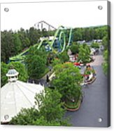 Kings Dominion - Shockwave - 01133 Acrylic Print