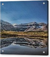 Kings Peak And The Pond Sinister Acrylic Print