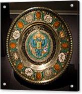 King's Plate Acrylic Print