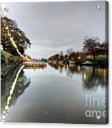 Kingsbridge Reflections  Acrylic Print