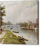 Kingston On Thames Acrylic Print by Robert Finlay McIntyre