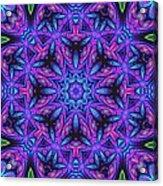 Kinnersley Vine Mandala Acrylic Print