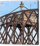 Kinnickinnic River Swing Bridge  4 Acrylic Print