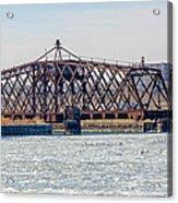Kinnickinnic River Swing Bridge Acrylic Print