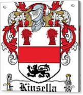 Kinsella Coat Of Arms Irish Acrylic Print