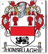 Kinsellagh Coat Of Arms II Irish Acrylic Print