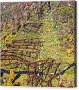 Kinzua Bridge Collapse Acrylic Print