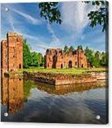 Kirby Muxloe Castle Acrylic Print
