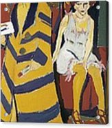 Kirchner, Ernst Ludwig 1880-1938 Acrylic Print by Everett