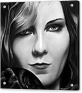 Kirsten Dunst Acrylic Print
