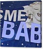 Kiss  Me Baby Acrylic Print