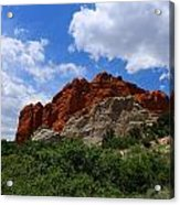 Kissing Camels - Garden Of The Gods Acrylic Print