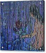 Kissing Rain Acrylic Print