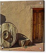 Kit Carson Home Taos New Mexico Acrylic Print