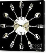 Kitchen Clock Acrylic Print