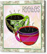 Kitchen Cuisine Rooibos Tea Party By Romi And Megan Acrylic Print