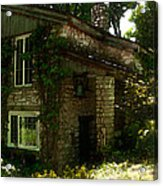 Kitchen Entrance To The Lodge At The Clearing In Door County Wisconsin Acrylic Print