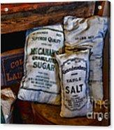 Kitchen - Food - Sugar And Salt Acrylic Print