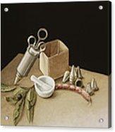 Kitchen Geometry Acrylic Print by Jenny Barron