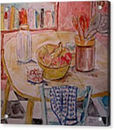 Kitchen In Nashville Acrylic Print by Lucille Femine
