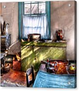 Kitchen - Old Fashioned Kitchen Acrylic Print