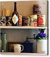 Kitchen Pantry Acrylic Print
