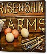 Kitchen  Rise And Shine Acrylic Print