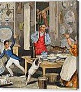 Kitchen Scene Acrylic Print