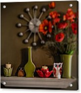 Kitchen Shelf  Acrylic Print