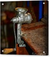 Kitchen - The Meat Grinder Acrylic Print